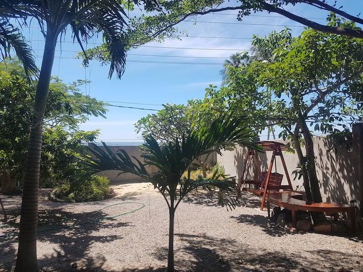 Muine Ocean House - Triple Room with garden view