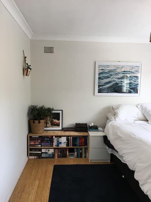 Bedroom 1 is very spacious