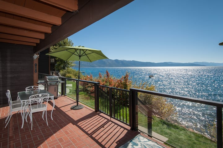 Lakefront Condo with Lake Access! Sweeping Views!