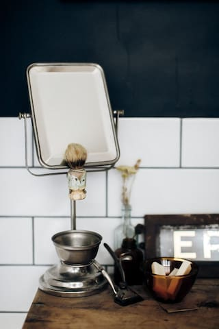 Bathroom details- save on packing with soaps, body wash, shampoo conditioner and other luxuries provided
