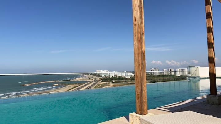Apartamento en Cartagena, Espectacular Vista