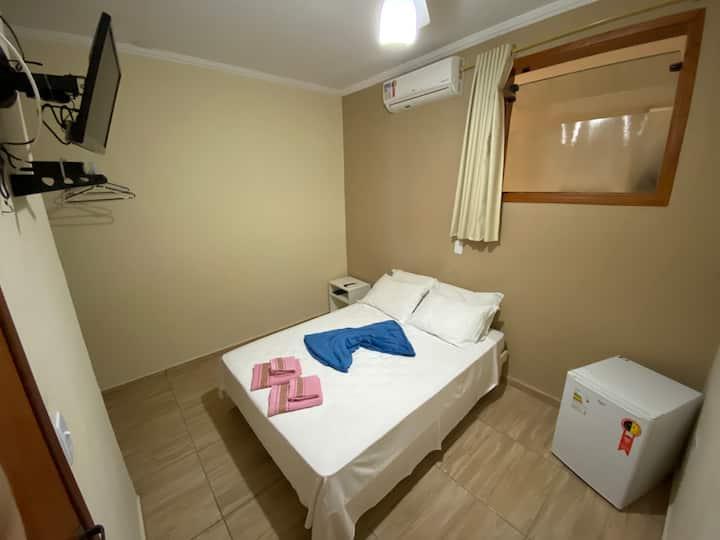 Suíte em Águas de São Pedro - cama de casal