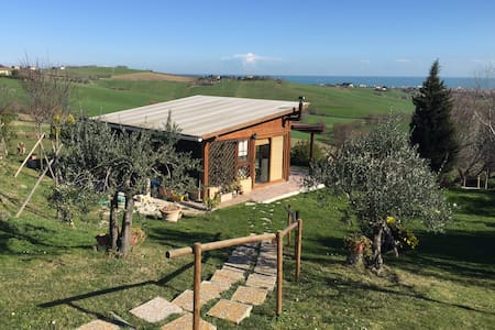 Chalet vista mare - Fano - Blockhütte
