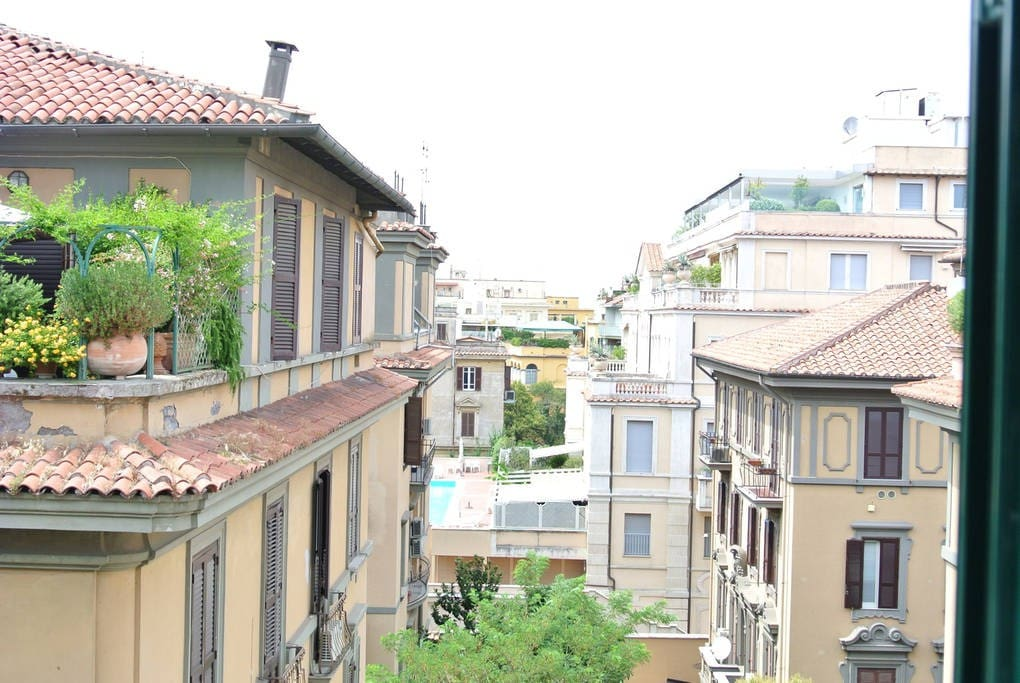 Parioli's Rooftops view
