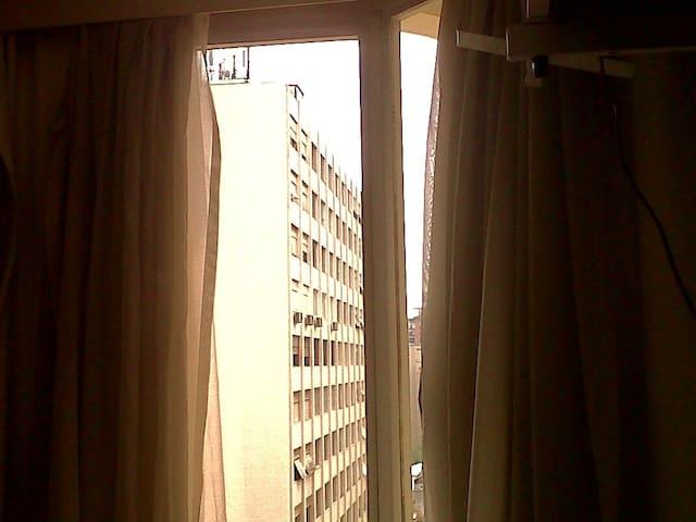 Vista de São Paulo ao lado da Av Paulista