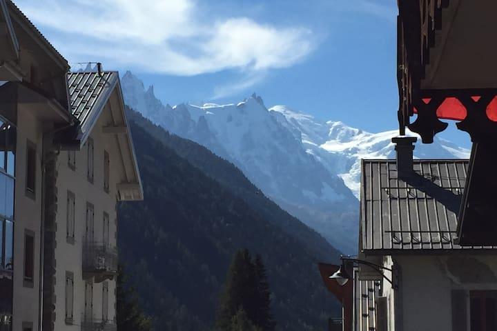 Appartement cosy 3/4 personnes idéalement situé ! - Chamonix-Mont-Blanc - Apartemen