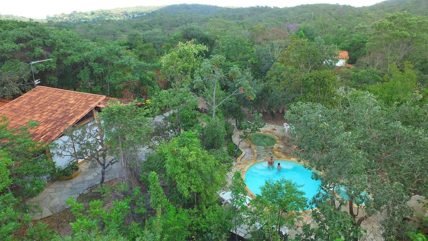Chalé Sucupira - Pirenópolis - Casa