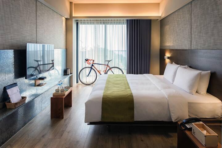 KADDA HOTEL精緻D(2人房) 含早餐/海景/無邊際泳池/單車免費租借