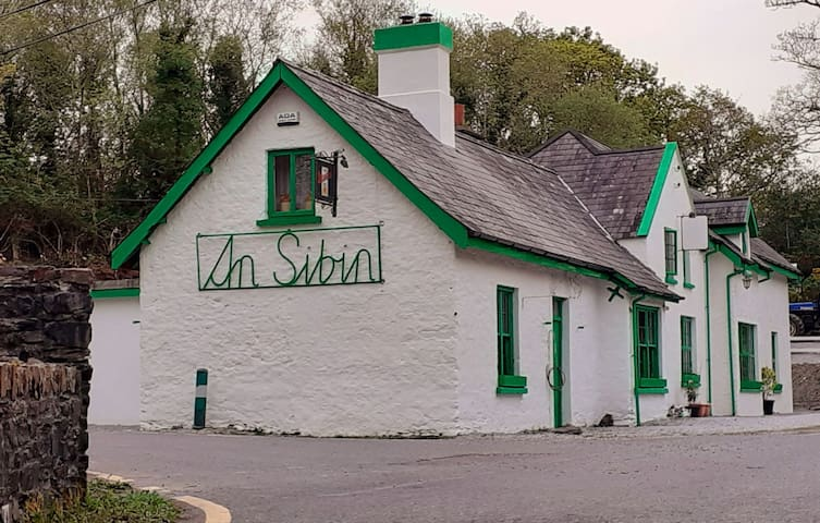 At the foot of Healy Pass An Sibin welcomes you!