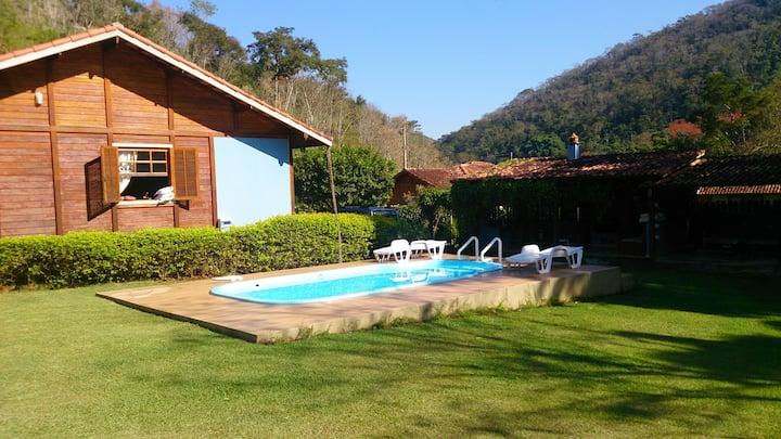 Casa para temporada na região de Itaipava