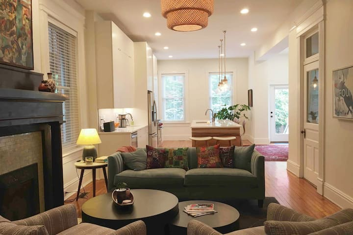 Renovated home in Richmond's historic Fan district