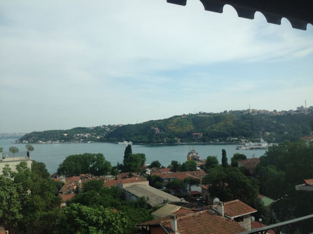 Fully furnished bosphorus view - Sarıyer