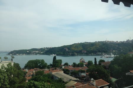 Fully furnished bosphorus view - Sarıyer - Podkroví
