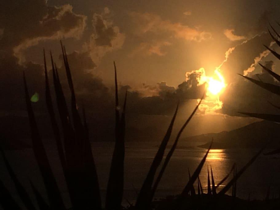 """Sunrise from """"Estate Bella Sera"""""""