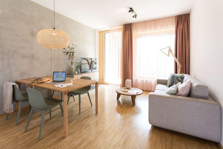 SMART: 2-Zimmer Wohnung in den CINARI Suites