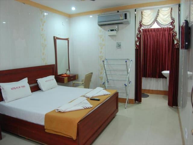 Near Beach Hotel  Duplex Room Stay @ Rameshwaram