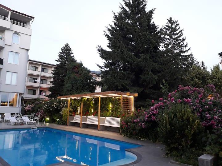 Great Room near Lake Ohrid-Poolside