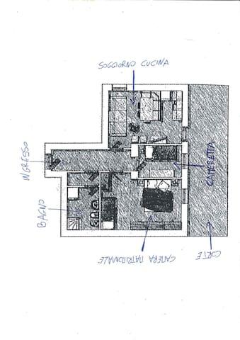 Appartamento in centro Auronzo - Auronzo di Cadore - Lejlighed