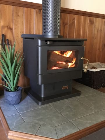 Wood fire for those cold winter nights