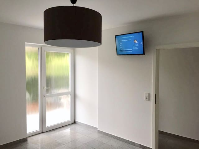 Moderne Wohnung, Messe Zi. 45km v. Frankfurt entf.