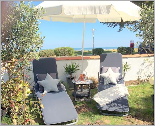 Charmante chambre face à la mer La Brée les Bains