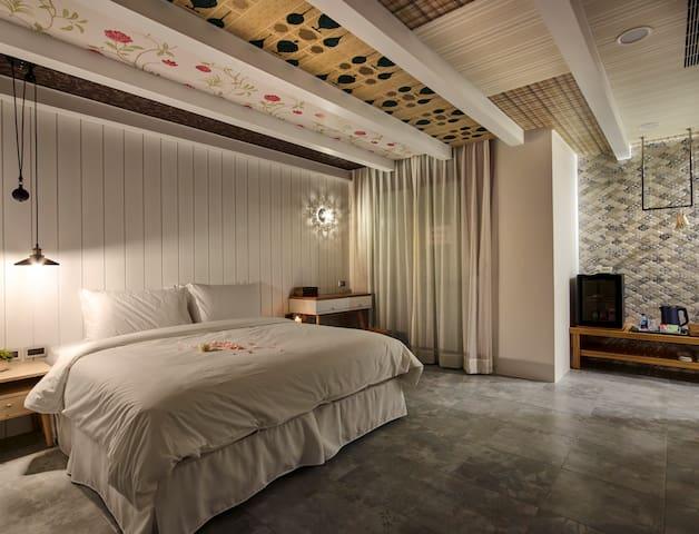 涵煙-沐旅 精緻舒適的客房 - Yuchi Township - Boutique hotel