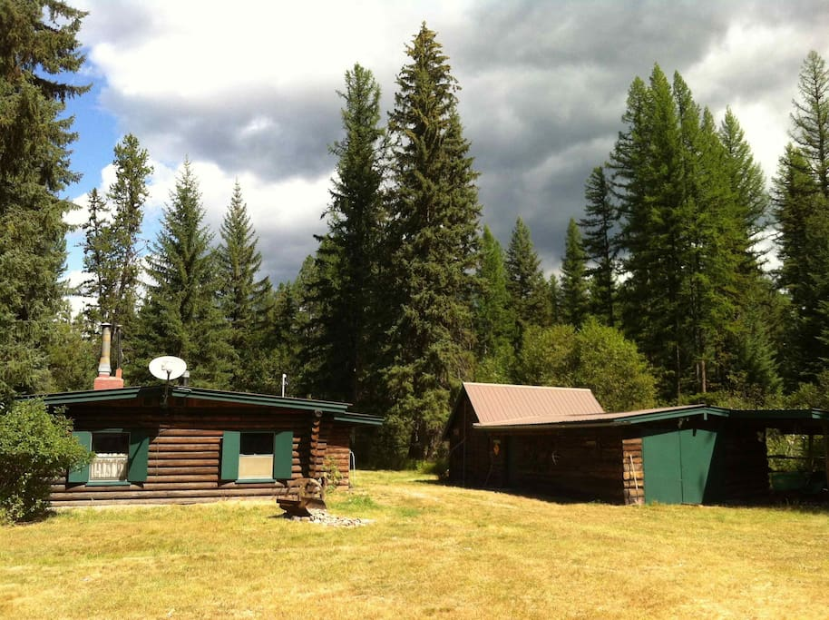 Waterfront Swan Valley Cabin The Moose Camp Cabins For