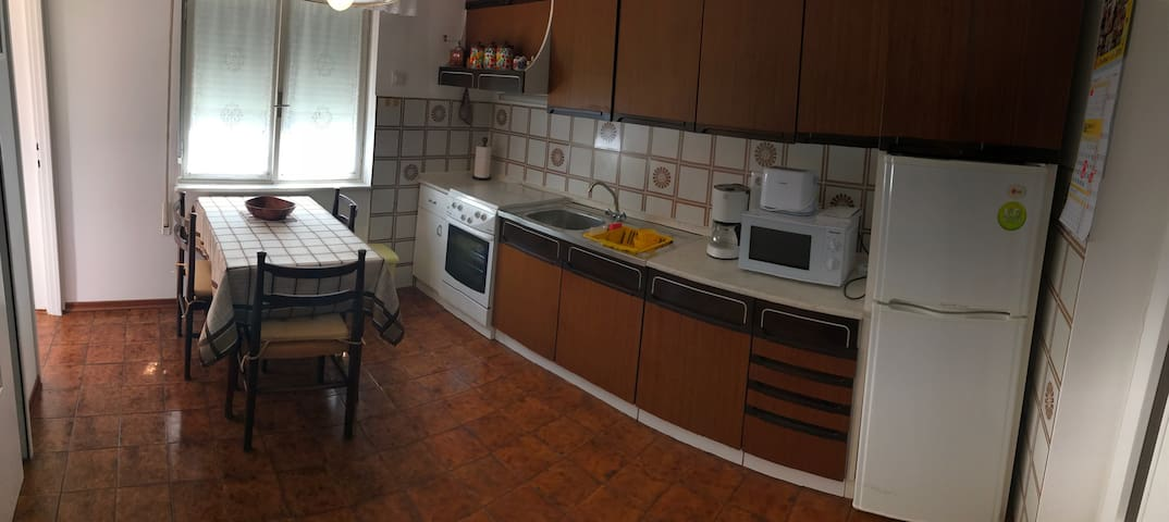 Kitchen in apartment