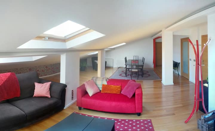 Penthouse in the heart of Santiago