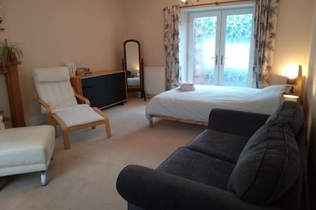81 Balvenie Street, guest room in family home.