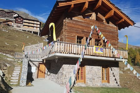 Gîte TSAmpa à Arolla, Val d'Hérens, Valais, Suisse