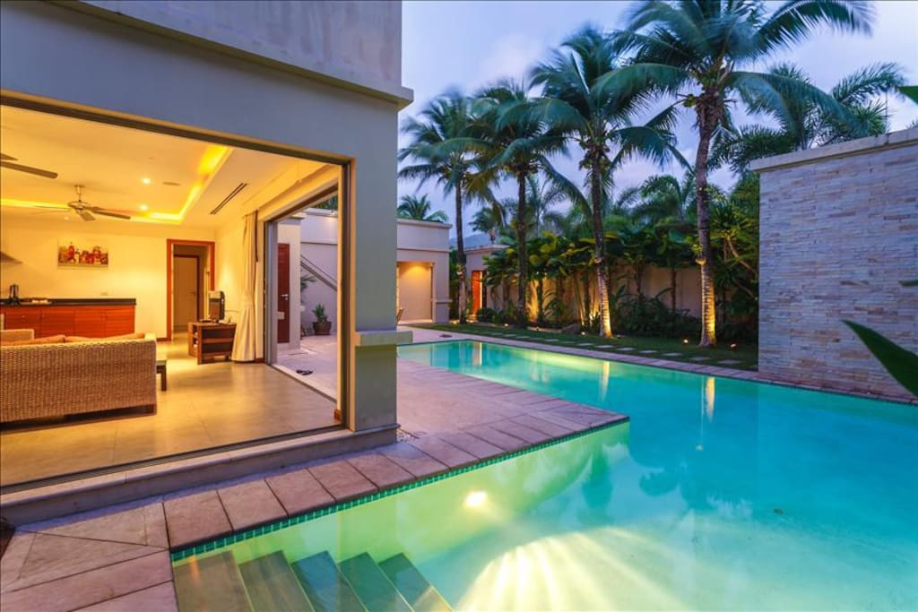 Amazing private villa in Bang Tao