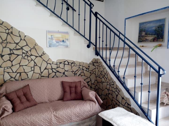 Casa singola a 20 metri dalla spiaggia in Salento