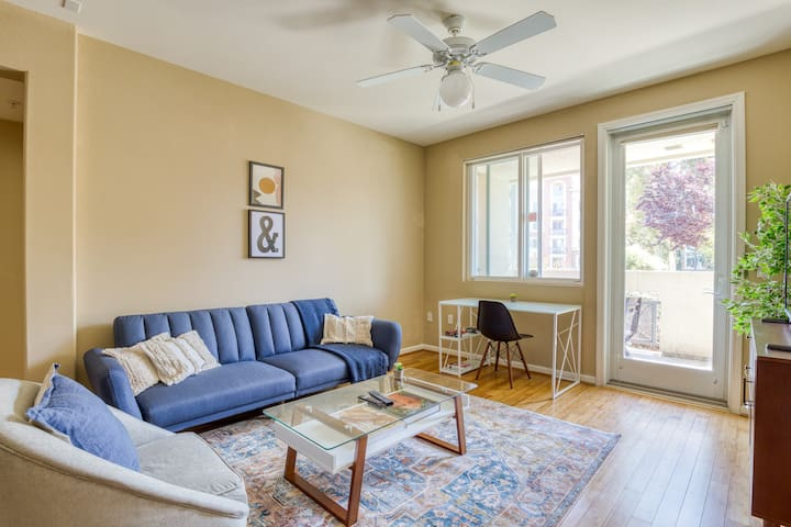 Silicon Valley 2BR with Pool and Hot Tub Access