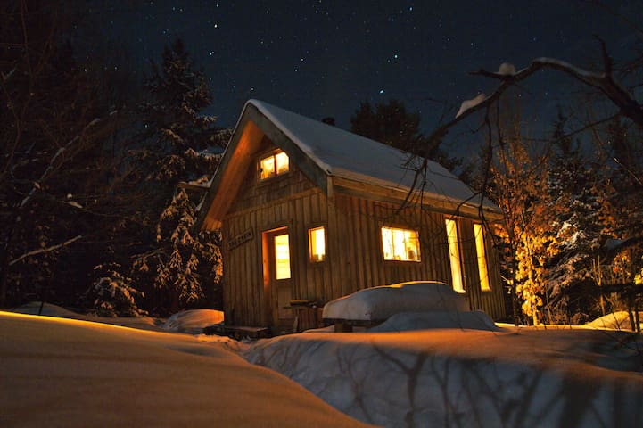 Deer Lake Lodge Off Grid Cabin