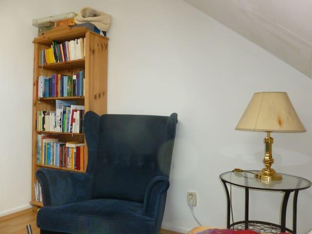 Bücherregal, wenn dir nach lesen ist