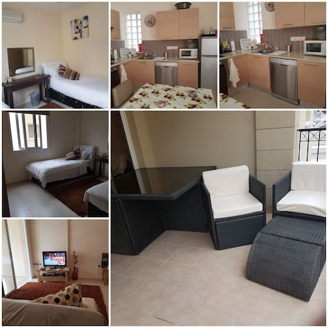 Plya a lovely 2 bedroom  apartment relax & unwind