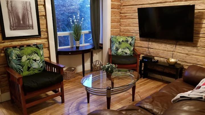 CM Properties, We Care. Modern Log Home