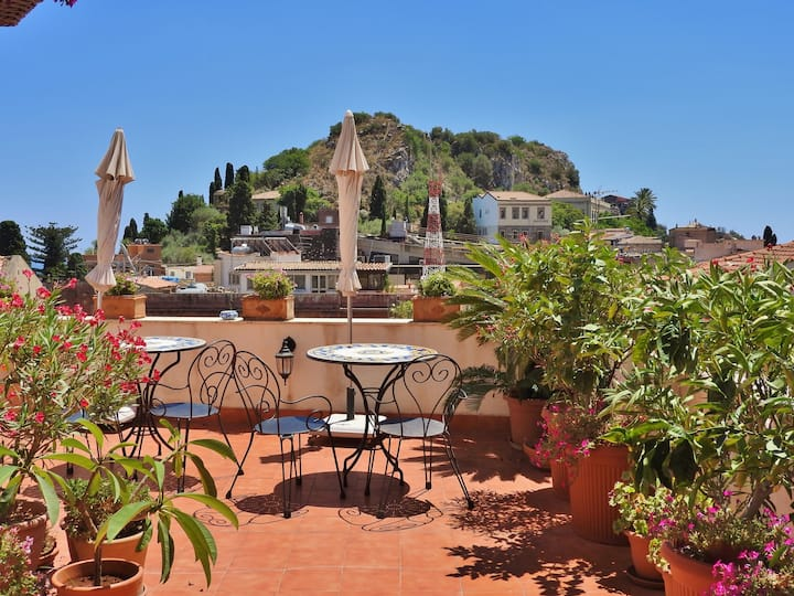 B&B Cielo di Taormina - Room with private balcony
