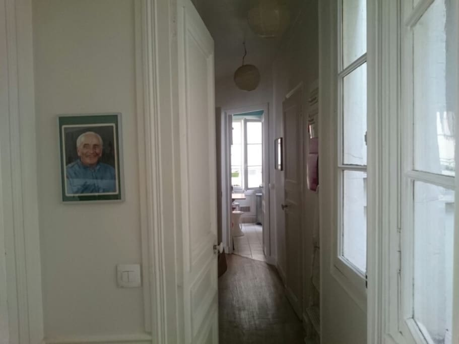 entrance, corridor and kitchen