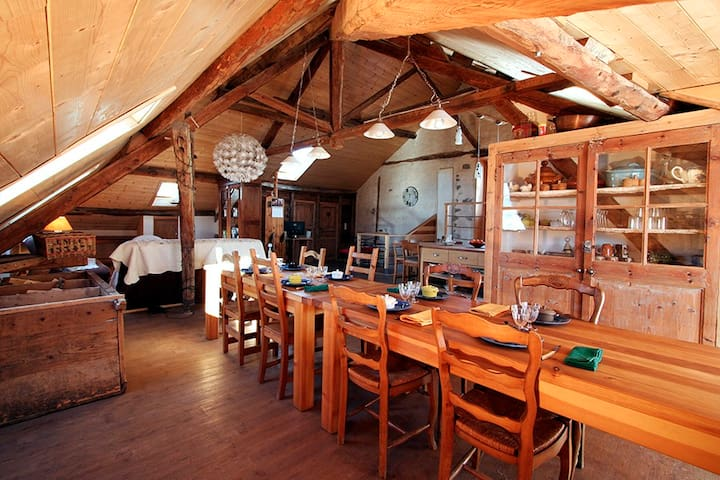 chambre d'hôtes les chanterelles - Seyne - ที่พักพร้อมอาหารเช้า