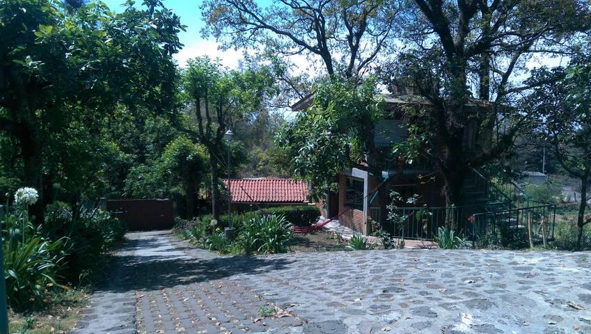 Cabaña planta baja con acceso a jardines
