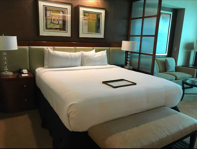 MGM Signature Deluxe Suite