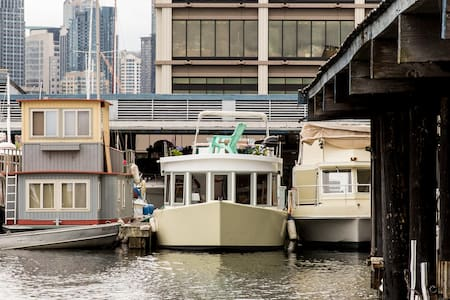 Cozy Carrot Houseboat - Seattle - Huis