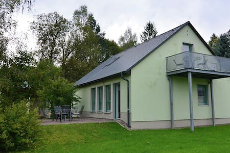 Apartamento élite en Reinhardtsdorf-Schona con terraza