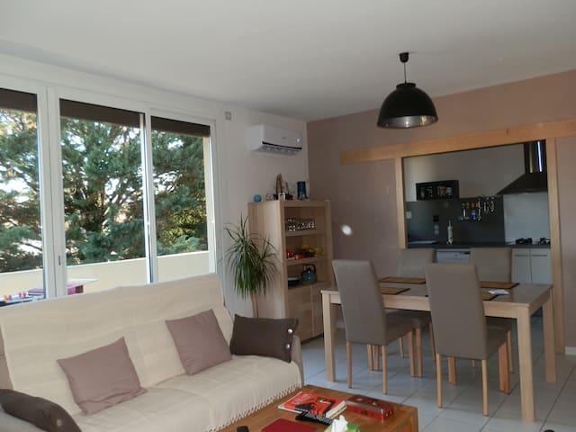 le calme et le confort en centre ville - Pau - Flat