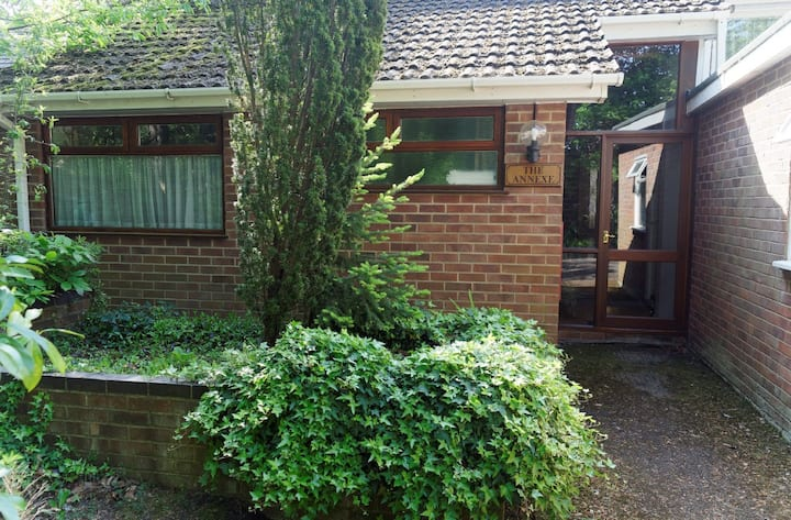 Quiet self-contained annexe