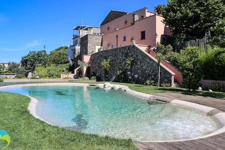 Villa Athena - Panoramic bio-pool - Termini