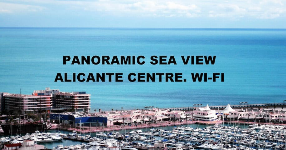 APT. PANORAMIC SEA VIEW. ALIC CENTER.