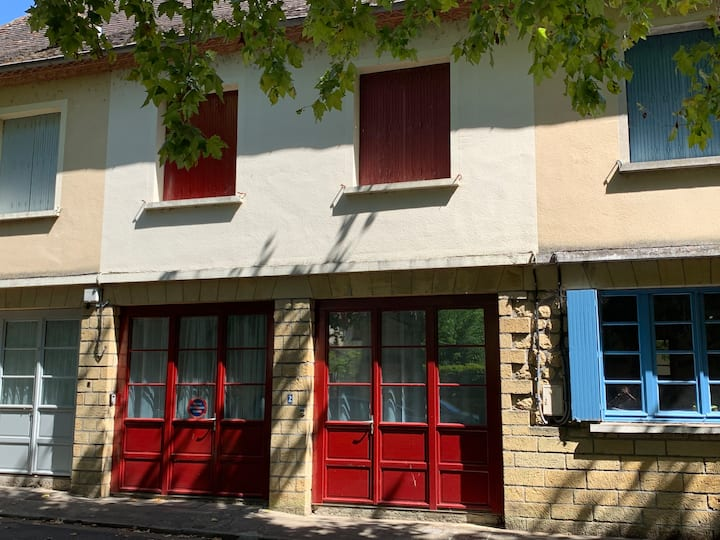 La Maison Rouge - a town house in Lalinde,